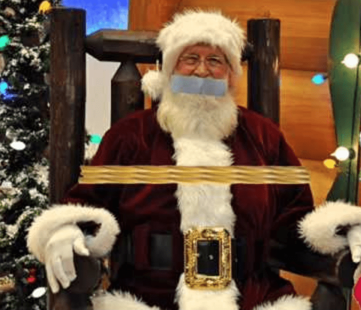 Santa Is Why People Don't Trust Themselves